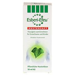 Esberi-Efeu Hustensaft 50 Milliliter N2 - Rückseite