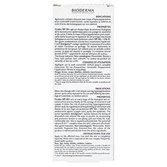 BIODERMA Cicabio Wundpflege-Creme SPF 50+ 30 Milliliter - Rückseite