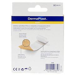 DERMAPLAST elastic Pflaster 8x10 cm 10 Stück - Rückseite