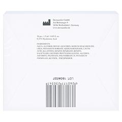 DERMAROLLER Hyaluronsäure 0,35% Ampullen 1,5 ml 30 Stück - Rückseite