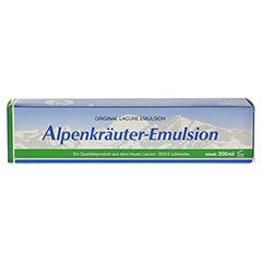 ALPENKRÄUTER Emulsion Lacure 200 Milliliter - Rückseite