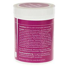 GLUTATHION MSE magensaftresistente Tabletten 60 Stück - Rückseite