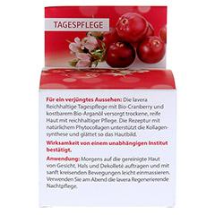 LAVERA reichhaltige Tagespflege Cranberry Creme 50 Milliliter - Rückseite