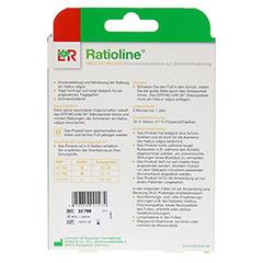RATIOLINE Hallux valgus Druckschutzpolster Gr.S 1 Stück - Rückseite