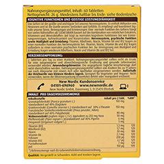 CLEAR BRAIN Tabletten 60 Stück - Rückseite