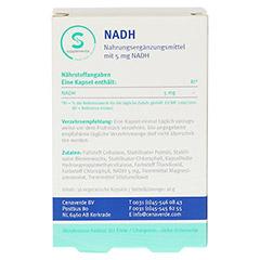 NADH 5 mg stabilisiert Kapseln 30 Stück - Rückseite