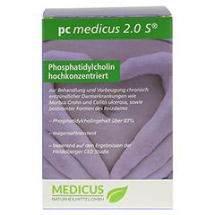 PC MEDICUS 2.0S magensaftresistente Kapseln 180 Stück - Rückseite