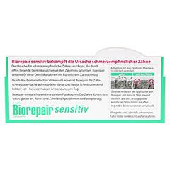 BIOREPAIR Zahncreme sensitiv 75 Milliliter - Rückseite