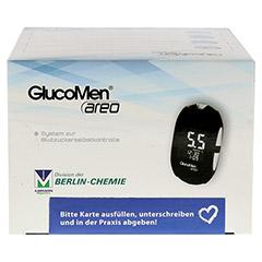 GLUCOMEN areo Blutzuckermessgerät Set mmol/l 1 Stück - Oberseite