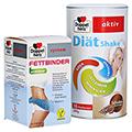 DOPPELHERZ Fettbinder mit KiObind system Tabletten + gratis Doppelherz Diät Shake 500 g PZN11138109 150 Stück