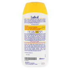 LADIVAL Schutz&Bräune Plus Lotion LSF 30 200 Milliliter - Rückseite