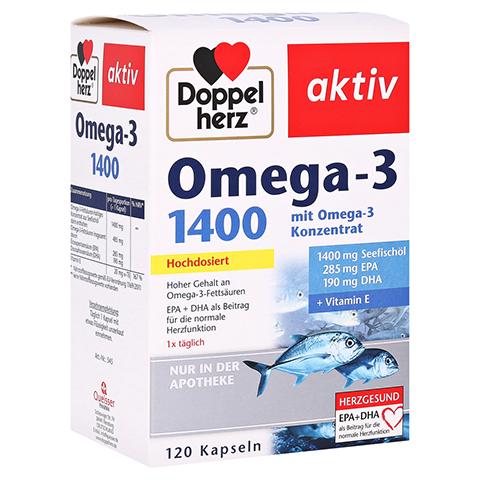 Doppelherz aktiv Omega-3 1.400 Kapseln 120 Stück