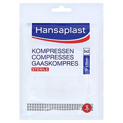 HANSAPLAST Kompressen steril 10x10 cm 5x2 Stück
