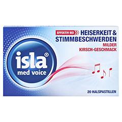 isla med Voice Pastillen 20 Stück - Vorderseite