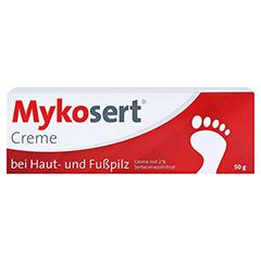 Mykosert bei Haut- und Fußpilz 50 Gramm N2 - Vorderseite