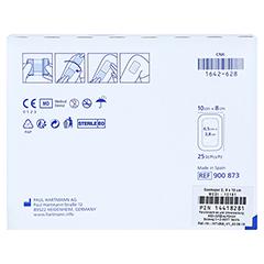 COSMOPOR E steril 8x10 cm 25 Stück - Rückseite