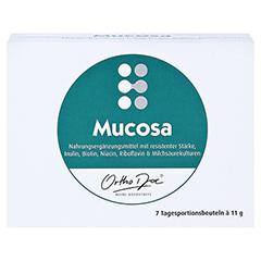 ORTHODOC Mucosa Pulver 7x11 Gramm - Vorderseite