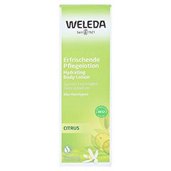 WELEDA Citrus erfrischende Pflegelotion 200 Milliliter - Vorderseite