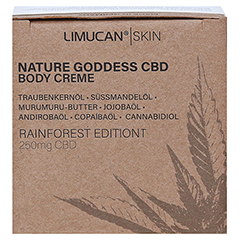 LIMUCAN Skin CBD Body Creme Rainforest Edition 50 Milliliter - Unterseite