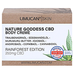LIMUCAN Skin CBD Body Creme Rainforest Edition 50 Milliliter - Vorderseite
