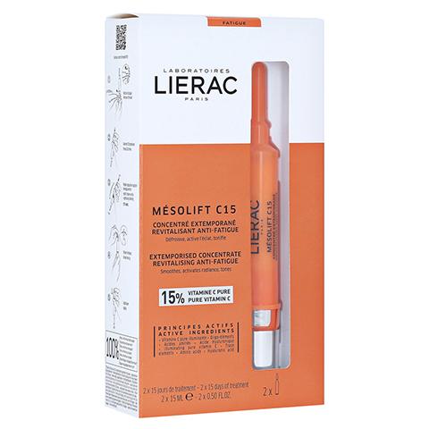 LIERAC Mesolift C15 Serum Anti-Müdigkeit 2x15 Milliliter