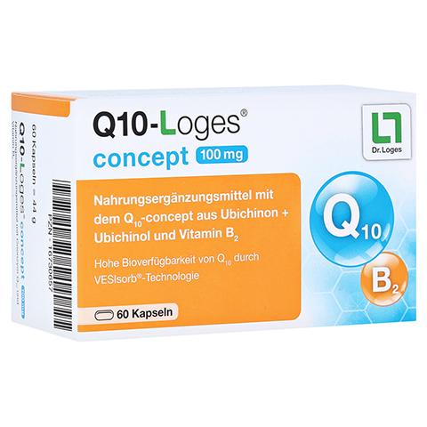 Q10-LOGES concept 100 mg Kapseln 60 Stück