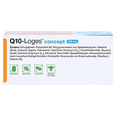 Q10-LOGES concept 100 mg Kapseln 60 Stück - Unterseite