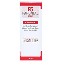 Parontal F5 med 20 Milliliter - Rückseite