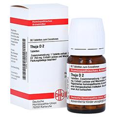 THUJA D 2 Tabletten 80 Stück N1