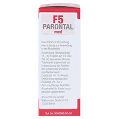 Parontal F5 med 20 Milliliter - Rechte Seite