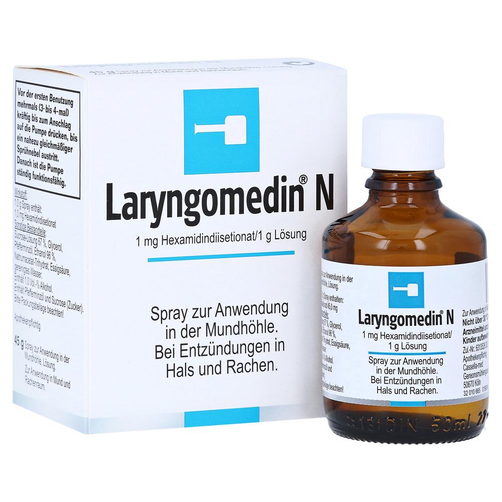 Erfahrungen zu Laryngomedin N 45 Gramm N2 - medpex