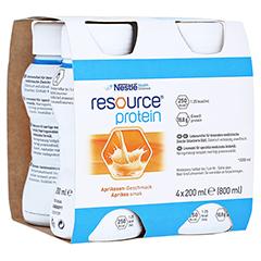 RESOURCE Protein Drink Aprikose 4x200 Milliliter