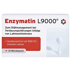 ENZYMATIN L 9000 Kapseln 30 Stück - Vorderseite