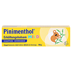Pinimenthol Erkältungsbalsam mild 50 Gramm N2 - Vorderseite