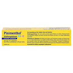 Pinimenthol Erkältungsbalsam mild 50 Gramm N2 - Oberseite
