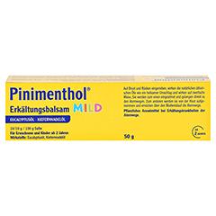 Pinimenthol Erkältungsbalsam mild 50 Gramm N2 - Rückseite