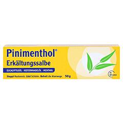 Pinimenthol Erkältungssalbe 50 Gramm N2 - Vorderseite