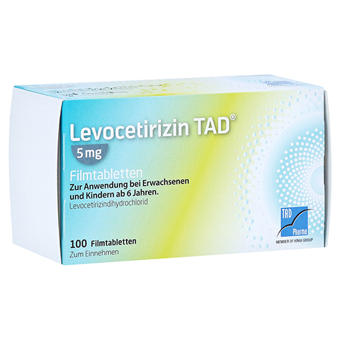 Levocetirizin TAD 5mg 100 Stück N3