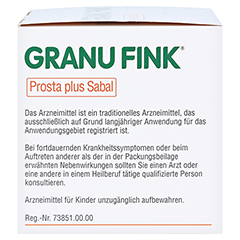 GRANU FINK Prosta plus Sabal 200 Stück - Linke Seite
