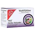 H&S heißer Holunder Vitaltee Filterbeutel 20x2.0 Gramm