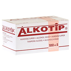 ALKO TIP Alkoholtupfer 100 Stück