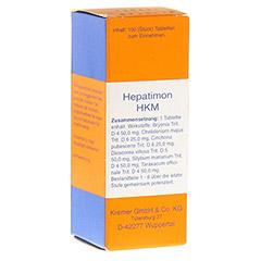 HEPATIMON HKM Tabletten 100 Stück N1