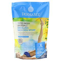 DERMASEL Totes Meer Badesalz+Sport 1 Packung