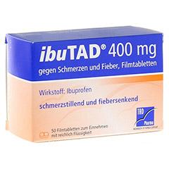 IbuTAD 400mg gegen Schmerzen und Fieber 50 Stück N3