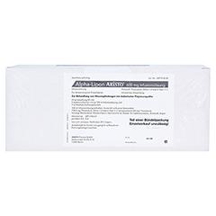 ALPHA LIPON Aristo 600 mg Infusionslösung 10x100 Milliliter N2 - Rückseite