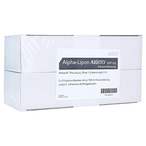 ALPHA LIPON Aristo 600 mg Infusionslösung 10x100 Milliliter N2