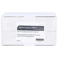 ALPHA LIPON Aristo 600 mg Infusionslösung 10x100 Milliliter N2 - Vorderseite