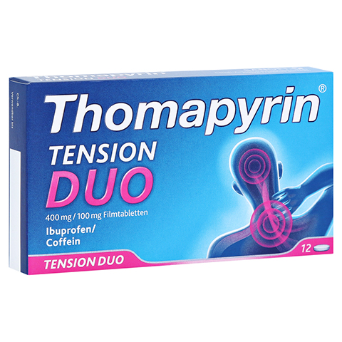 Thomapyrin TENSION DUO 400mg/100mg 12 Stück