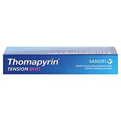 Thomapyrin TENSION DUO 400mg/100mg 12 Stück - Oberseite