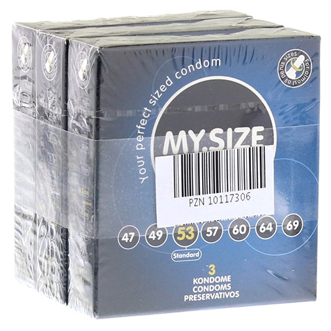 MYSIZE Testpack 47 49 53 Kondome 3x3 Stück